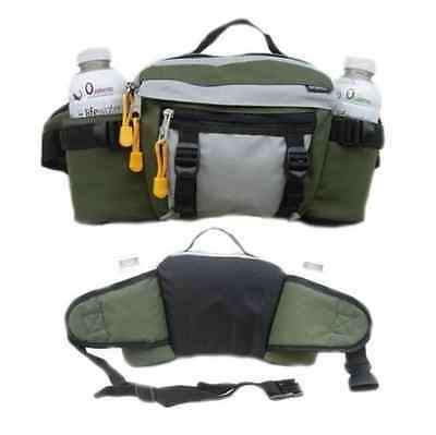 Everest Dual Water Bottle Waist Fanny Pack Holder Camping Hiking Sports Bag