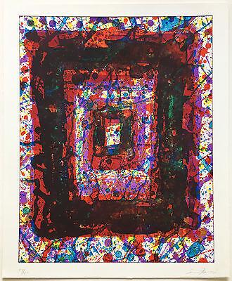 Sam Francis 1979 Color Lithograph Signed Ltd. Edition of 100 Pristine JKLFA.com
