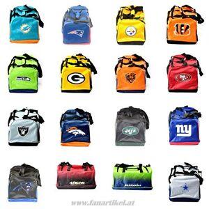 NFL-Reise-Sporttasche-Fanartikel-Seahawks-Patriots-Packers-49ers