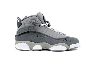 130e2d82f13969 Nike Big Kid s Jordan 6 Rings NEW AUTHENTIC Matte Silver 323419-014 ...