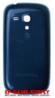 For Samsung Galaxy S3 Mini G730a At&t Replacement Battery Cover Door Blue