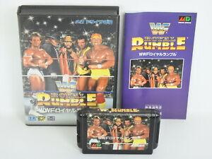 WWF-ROYAL-RUMBLE-Ref-1599-Mega-Drive-Sega-Japan-md