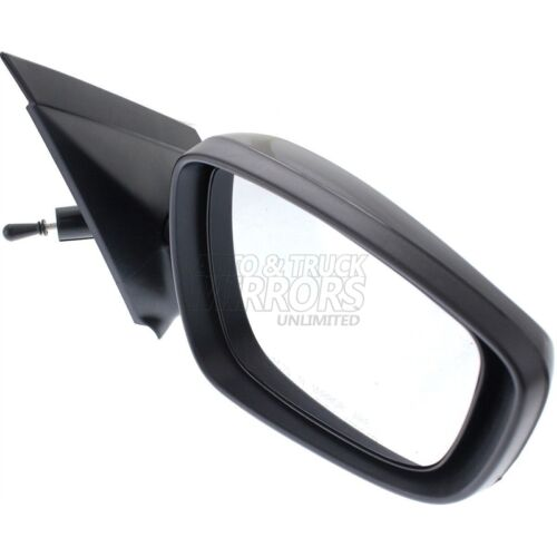 Fits Accent 12-16 Passenger Side Mirror Replacement Smooth Black