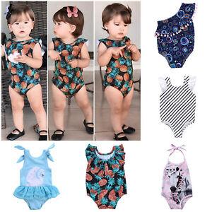 Infant-Baby-Girls-Swimwear-One-Piece-Swimsuit-Beach-Romper-Summer-Bathing-Suit