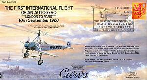 COF 24-1928 Century of Flight - The First International Flight Of An Autogyro