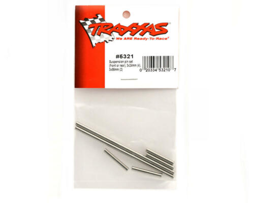 #5321 OZ RC Traxxas Revo Slayer Front//Rear Steel Suspension Hinge Pin Set 6pcs