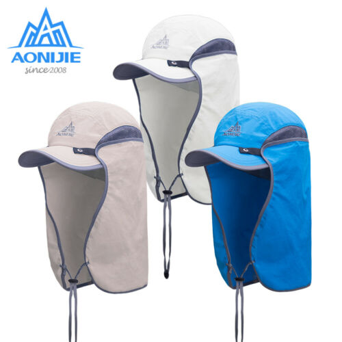 AONIJIE Unisex Fishing Hat Sun Visor Cap Hat Outdoor UPF 50 Sun Protection with