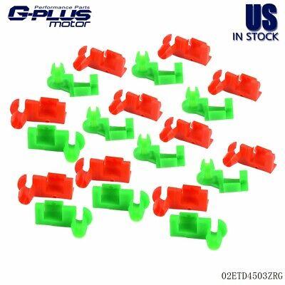 GENUINE GM 99-07 SILVERADO SIERRA TAILGATE HANDLE ROD CLIP RH GREEN # 88981030