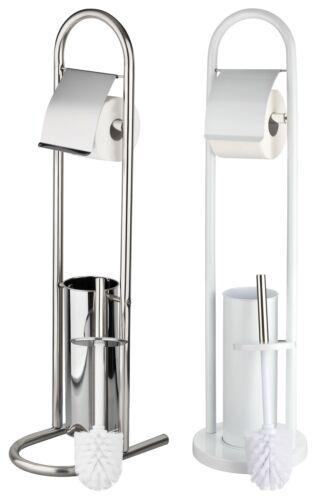 Papier toilette support brosse WC design Set WC chrome porte-rouleau en acier inoxydable