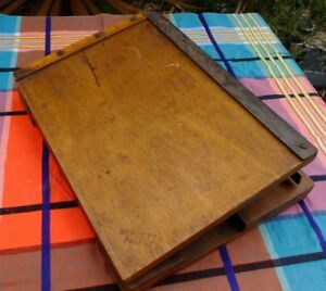 VINTAGE-SHABBY-OLD-GUILLOTINE-PAPER-CUTTER-INTERESTING-DESIGN