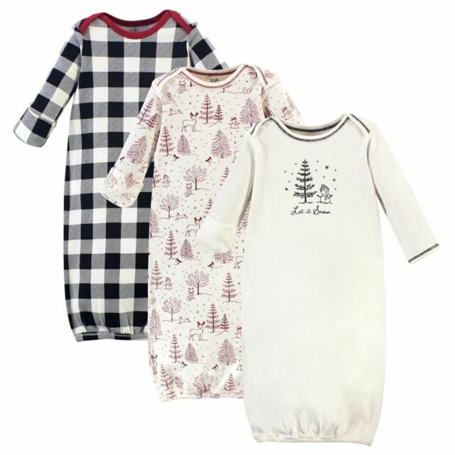 Touched by Nature Baby Organic Cotton Gown Nightgown