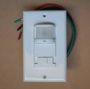 Image Is Loading Occupancy 120v Wall Decora Motion Sensor Detector Switch
