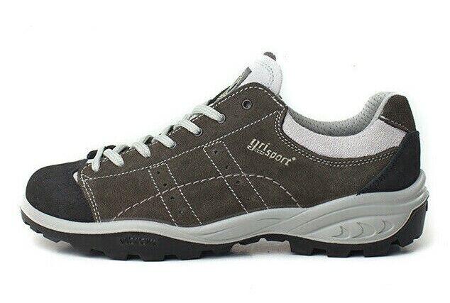 Zapatos grisport Trekking Made IN  Suela Vibram Art 12129 Col Antracita
