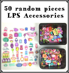 Littlest-Pet-Shop-Lot-50-Big-Accessories-House-Kennel-Cars-Boat