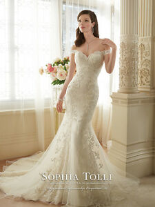 Image Is Loading Wedding Dress Sophia Tolli Style No Y11634 Loraina