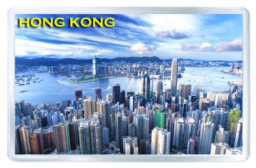 Hong Kong Skyscrapers Mod3 Fridge Magnet Souvenir Magnet Kühlschrank