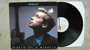 Nick-Heyward-North-Of-A-Miracle-D-83-LP-foc-Vinyl-vg