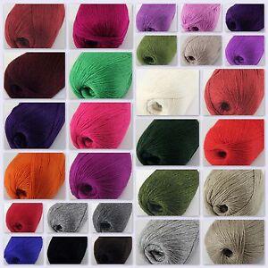 NEW-Sale-Luxurious-Soft-50gr-Mongolian-Pure-Cashmere-Hand-Knitting-Wool-Yarn