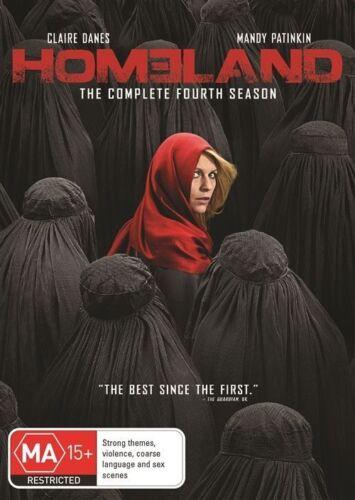1 of 1 - Homeland : Season 4 (DVD, 2015, 4-Disc Set)