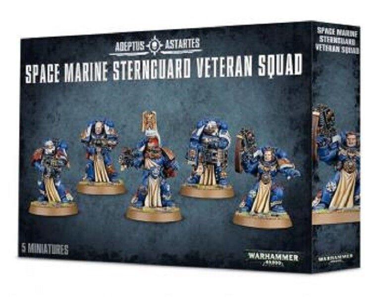 Warhammer 40k - space marine sternguard veteranen - truppe (neu)