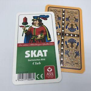 25 Skat Spiele Club Deutsches Bild Kornblume Kartenspiel Spielkarten von Frobis