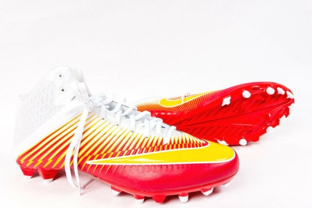 Vapor Speed Cleats Red Yellow White