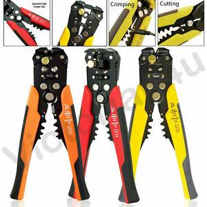Auto-Ajustable-Cable-Pelacables-Cortador-Automatico-Arrugador-Herramienta-Alicates-que-prensan