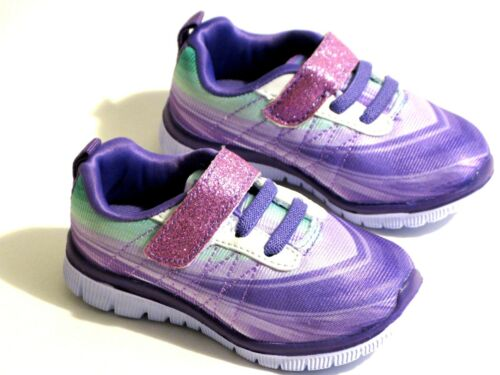 New Adorable Baby Toddler Girls Multi Colored Athletic Running Shoes Sz 4-9
