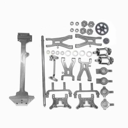 Upgrade Kit Metal Radio Tray Refit Parts for 1//18 WLtoys A959 A969 A979 K929
