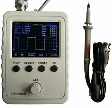 Assembled Dso150 Digital Oscilloscope 24 Lcd Display With Case Test Clip Power