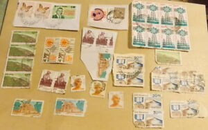 TIMBRES-ANCIENS-DIVERS-INDE-38-TIMBRES
