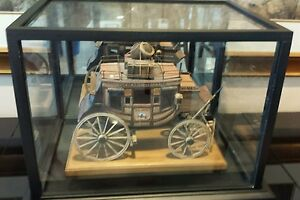 Oscar-M-Cortes-1999-LARGE-STAGECOACH-OVERLAND-STAGELINE-U-S-MAIL-VERY-RARE