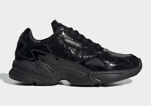 Women's adidas Falcon TRIPLE BLACK ALL
