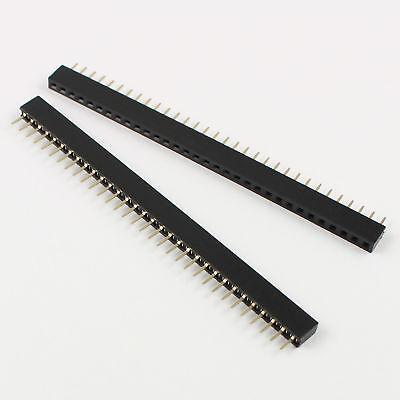 100PCS 1x3 Pin 2.0mm Pitch Single Row Straight Female Pin Headers Strip new