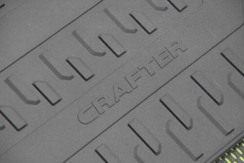 Original VW Gummifußmatten Satz vorne 3tlg Crafter 7C1061502 82V Gummi Fußmatten
