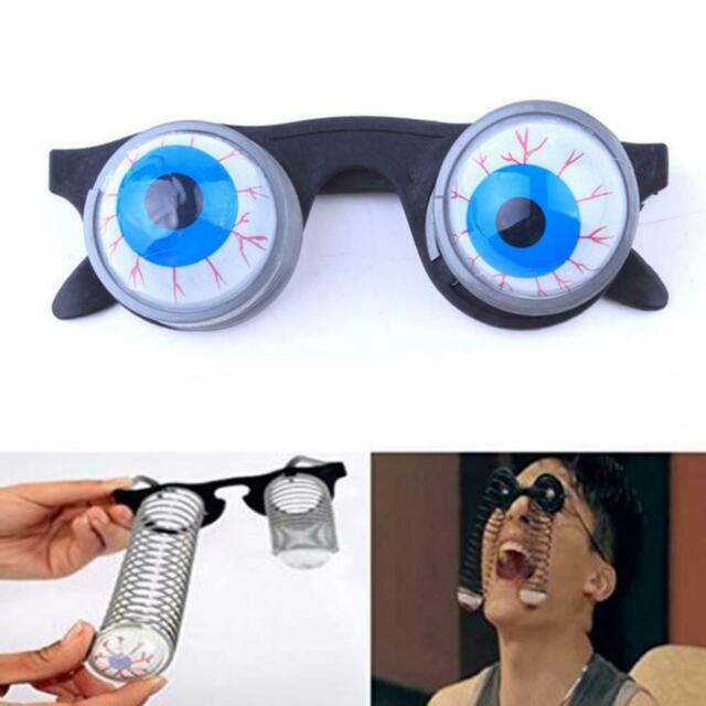 Pop Out Eyes Glasses Droopy Eyes Spring Glasses Halloween Costume Party Jokes