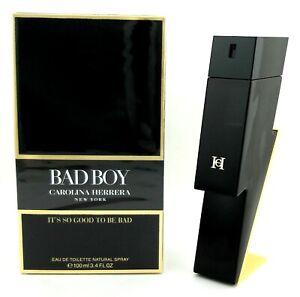Bad Boy by Carolina Herrera 3.4 oz. Eau de Toilette Spray for Men. New in Box