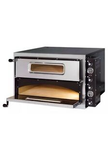 Pizza oven double deck catering single phase electric made in italy image is loading pizza oven double deck catering single phase electric publicscrutiny Choice Image