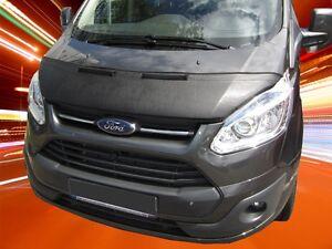 2012-2017 Steinschlagschutz Haubenbra WEISS BRA Ford Transit Tourneo Custom Bj