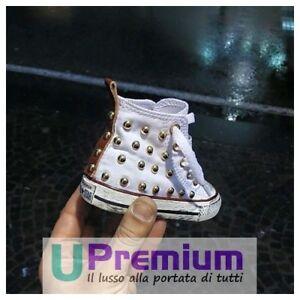Seychelles Star Zapatos Converse personalizado All a hechos mano Producto con tachuelas E4Hp4Tq