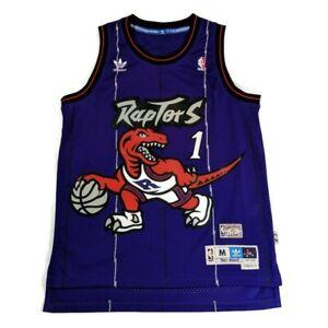 Details about Tracy McGrady Toronto Raptors Adidas Hardwood classic NBA Throwback Jersey Sz M