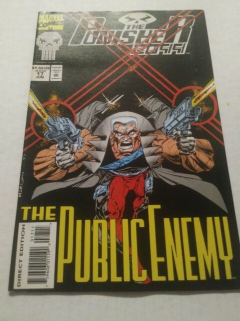 The Punisher 2099  #17 June 1994 Marvel Comics
