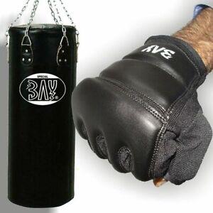 BAY® Boxset TOUCH Sandsack Boxsack+Handschuhe Boxhandschuhe Box Set Erwachsene