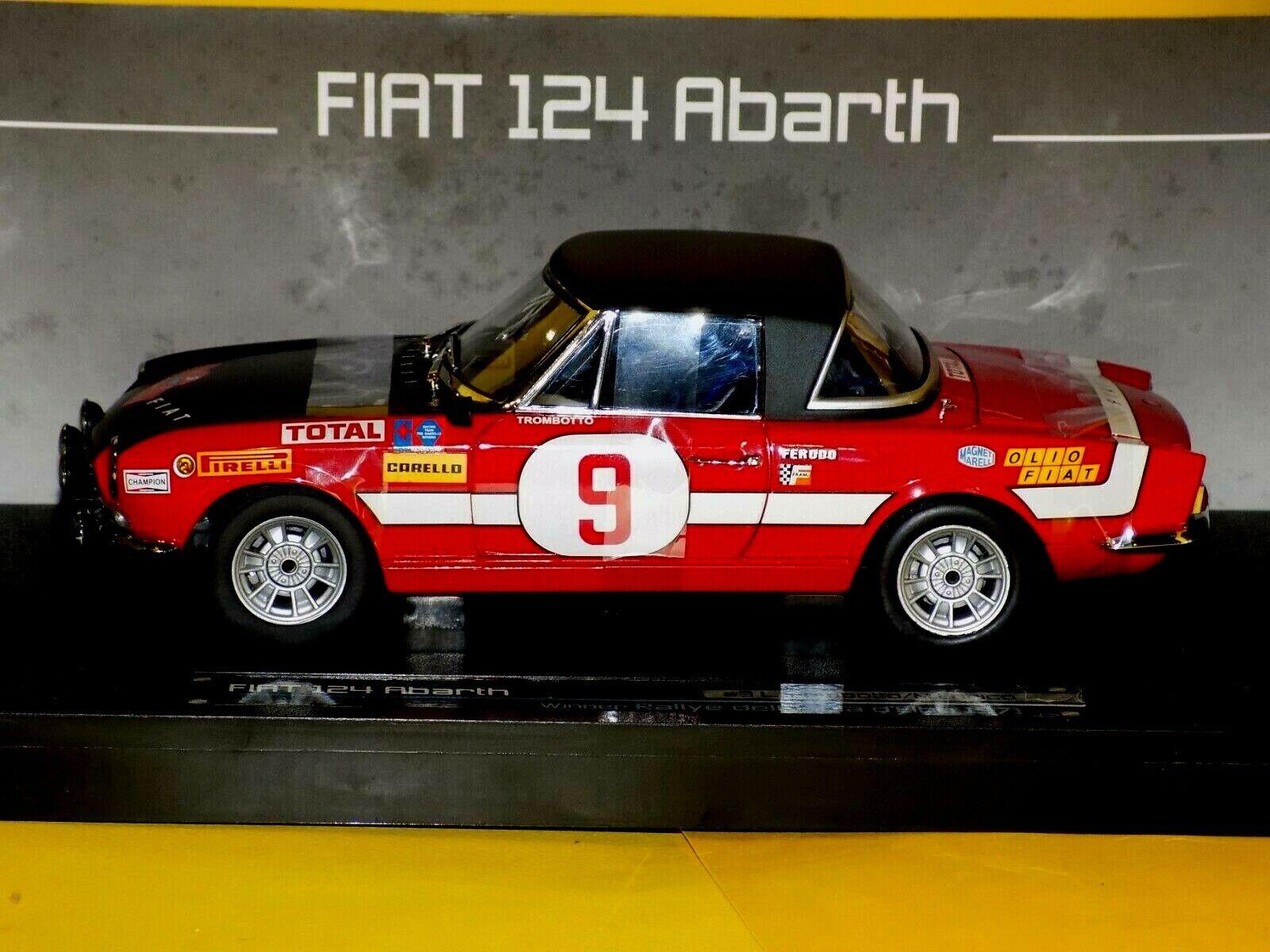 FIAT 124 ABARTH   9 Winner  dell' Isola d'Elba 1971   SUN STAR 4945 1 18  confortablement