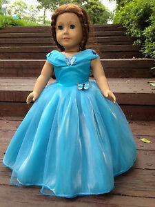 Cinderella-dress-inspired-by-Disney-039-s-movie-for-American-girl-18-034-Doll-Clothes