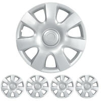 Hubcap For 15 Inch Wheel Cover Protection Durable Abs Replacement 4 Piece on Sale
