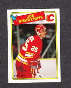 1988-89-OPC-O-Pee-Chee-Hockey-card-16-Joe-Niewendyk-RC-Rookie-Near-Mint-Mint