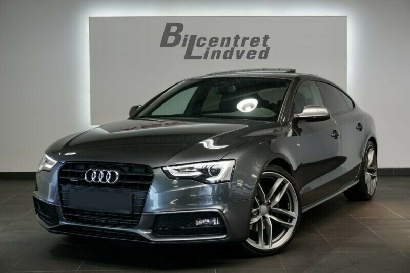 Audi A5 3,0 TDi 245 SB quattro S-tr. 5d - 2.945 kr.