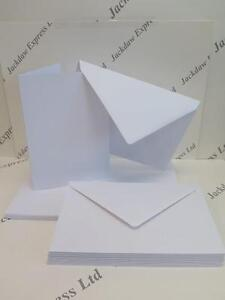 25 x greeting cards blank white a5 210x148mm single fold c5 image is loading 25 x greeting cards blank white a5 210x148mm m4hsunfo