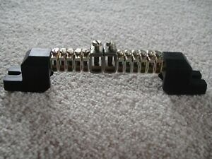 Neutral//Earth Bar JEW103A   100amp Brass Bar
